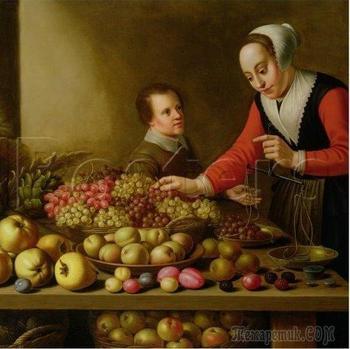 Художник Флорис Герритс ван Схотен (1590 - ок.1655). Про голландскую кухню в ХVII веке