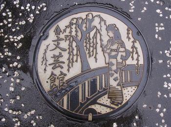 Декоративные люки Японии