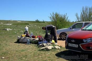 Три дня в Крыму. 2. 1-2-е мая. Нижнее плато Чатыр-Дага