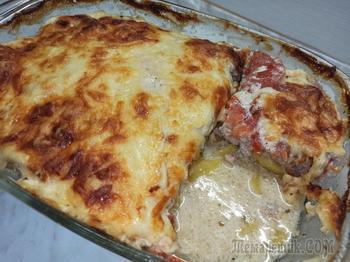 Картофель с фаршем в духовке. Вкусный обед или ужин!