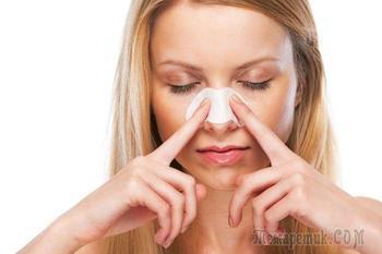 Как самостоятельно избавиться от чёрных точек на подбородке и на носу