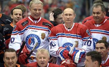 Владимир Путин сыграет в хоккей на Северном полюсе