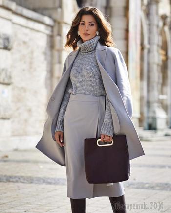 Зимний деловой стиль 2019 для женщин 40-50 лет: идеи для элегантных и уверенных в себе женщин