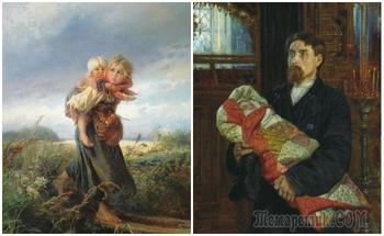 Как появлялись на свет и росли дети в семьях крепостных крестьян
