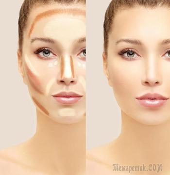 """Как с помощью макияжа сделать лицо """"стройнее"""""""