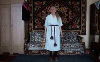 Вера и мода: стильные наряды 91-летней бабушки из Беларуси
