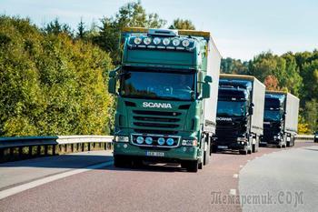 Беспилотники Scania осваивают маршруты