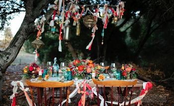 Богемный ужин: идеи для декора стола в стиле бохо