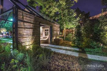 Сад Спадчына: Белорусская хата — на краю поля ржи