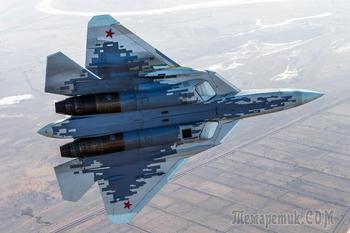 Су-57 образца 2020 года
