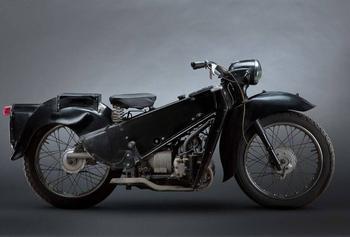 Самые необычные ретро модели мотоциклов