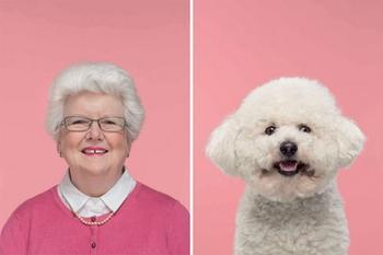 Фотограф снимает забавные портреты собак и их владельцев, демонстрируя их удивительное сходство
