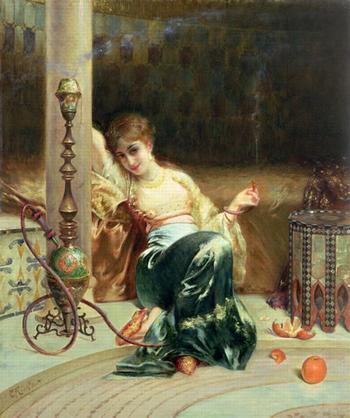 Эдуард Фредерик Вилхельм Рихтер - французский художник