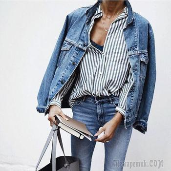 Самые модные джинсовые куртки 2018 года