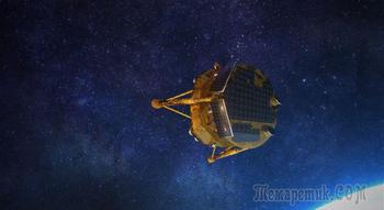 Первый израильский лунный посадочный аппарат выходит на орбиту к Луне