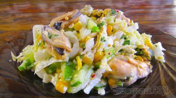 Салат из пекинской капусты «Легкость»