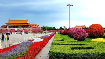 Китай 2018. 51. Пекин. Площадь Тяньаньмэнь /Ворота Небесного Спокойствия/