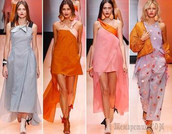 10 модных цветов одежды весна-лето 2018 по версии Pantone