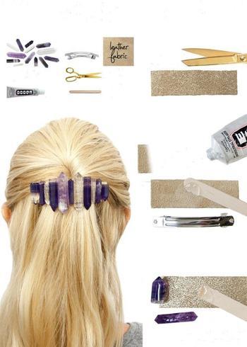 18 необыкновенных украшений для волос, которые можно сделать своими руками