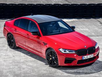 BMW M5 2021: престижный седан со спортивной душой