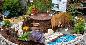 20 самых оригинальных миниатюрных садов для фей