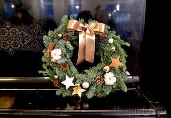 Мастер-класс от флориста: новогодний венок из натуральной ели