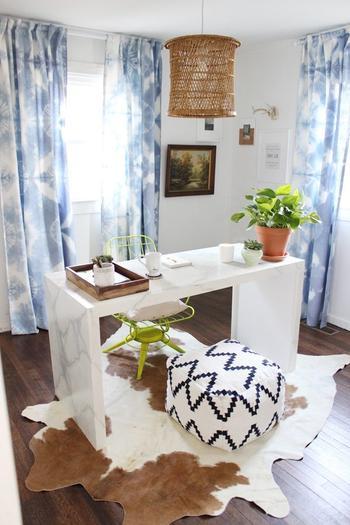 Необычный способ оформления штор для дома