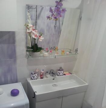 Ванная цвета эдельвейс