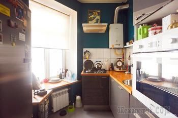 Квартира на Петроградской со сменными экспозициями картин и фотографий на стенах