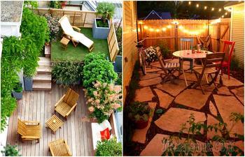 15 реальных идей, которые помогут обустроить узкий дворик на даче