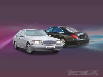 Чугун против алюсила: прогресс и регресс Mercedes-Benz S-Klasse W222 и W140