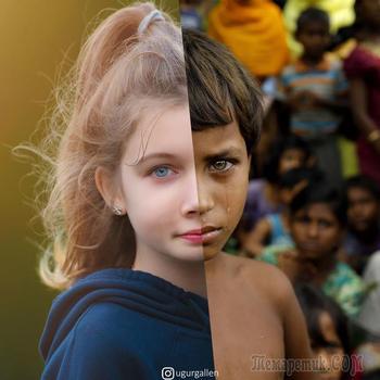 20 фотографий, показывающих ужасающую разницу между двумя мирами, в которых мы живём