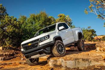 Chevrolet Colorado ZR2 – пикап для одержимых бездорожьем