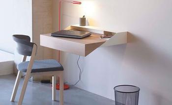 16 идей для пристенного стола в небольших помещениях