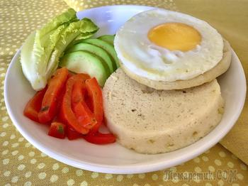 Английская булочка к завтраку