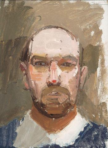 Euan Uglow . Британский художник