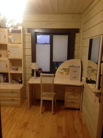 Детская: деревянные комнаты