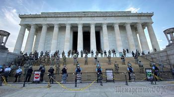 Готовы защищать: к Вашингтону стянули Национальную гвардию