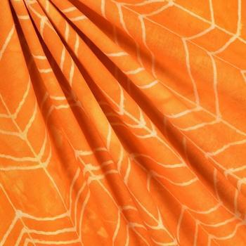 Идея: роспись ткани с контуром из клея
