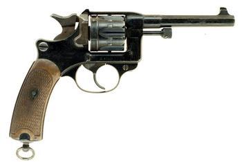 Французский револьвер образца 1892 года (French Model 1892 Revolver)
