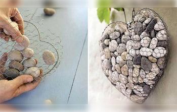 Идеи украшения дачного участка обычными камнями