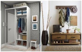 Идеи для организации хранения в прихожей, которые подойдут и для крохотных комнат