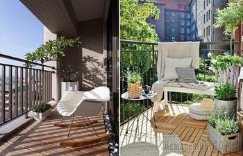Пара квадратных метров, или Дельные советы, как преобразить балкон