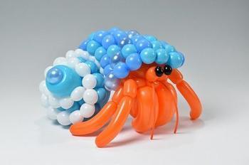 Потрясающие скульптуры животных из воздушных шаров
