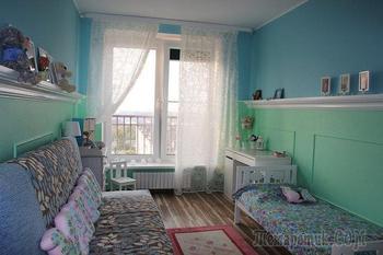 Детская: интеллигентный дизайн комнаты 4-летней девочки