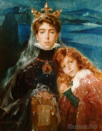 Портреты французского художника Люсьена-Виктора Гирана де Севола