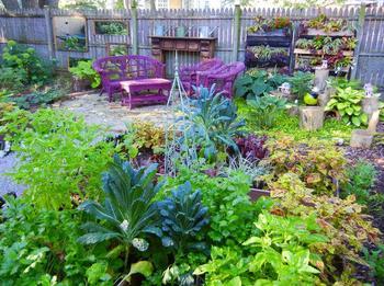 Цветочно-овощные идеи