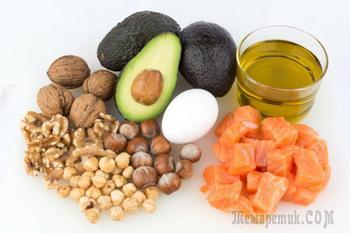Жирные продукты, от которых не стоит отказываться при диете