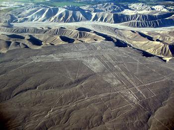 Новые рисунки в пустыне Наска