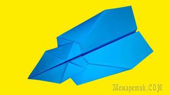 Конкорд самолет из бумаги. Бумажная модель из листа А4